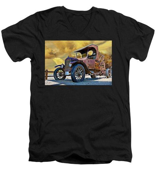 C207 Men's V-Neck T-Shirt