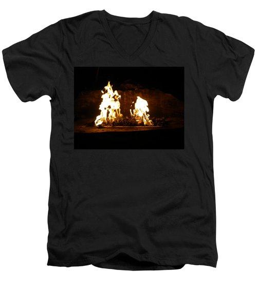 Cabana Fire  Men's V-Neck T-Shirt