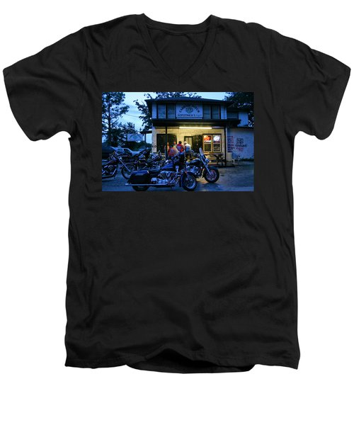 Cabbage Patch Bikers Bar Men's V-Neck T-Shirt