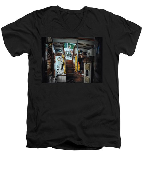 Cabin Fever Men's V-Neck T-Shirt