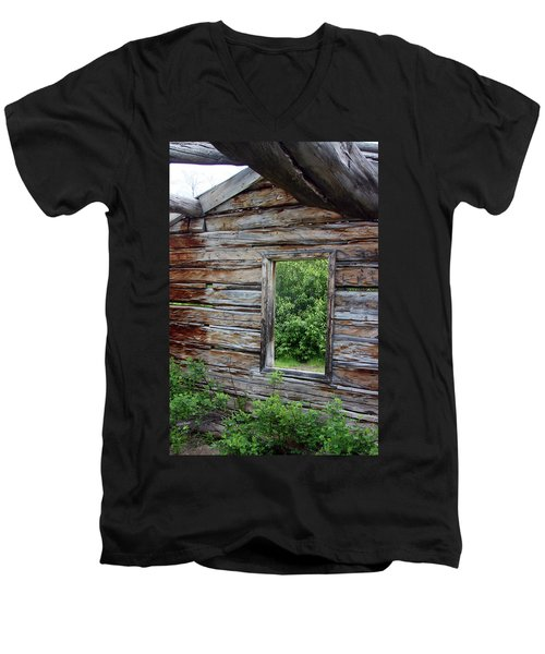 Cabin Window Men's V-Neck T-Shirt