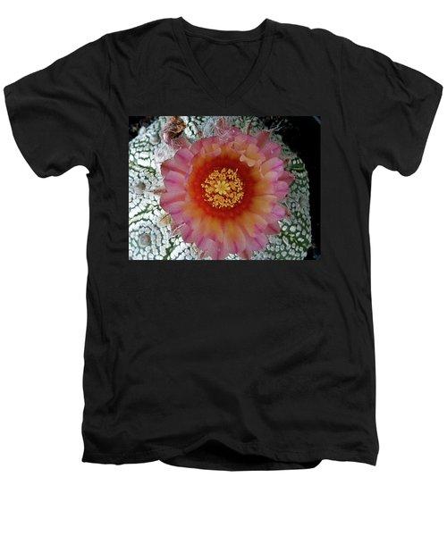Cactus Flower 5 Men's V-Neck T-Shirt
