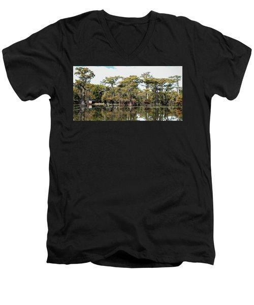 Caddo Bayou Men's V-Neck T-Shirt