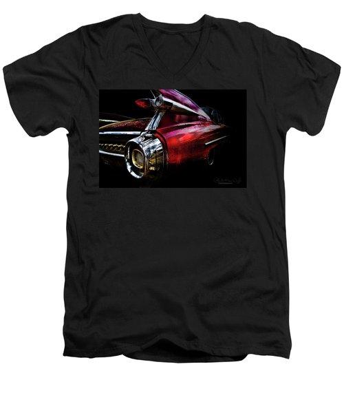 Cadillac Lines Men's V-Neck T-Shirt