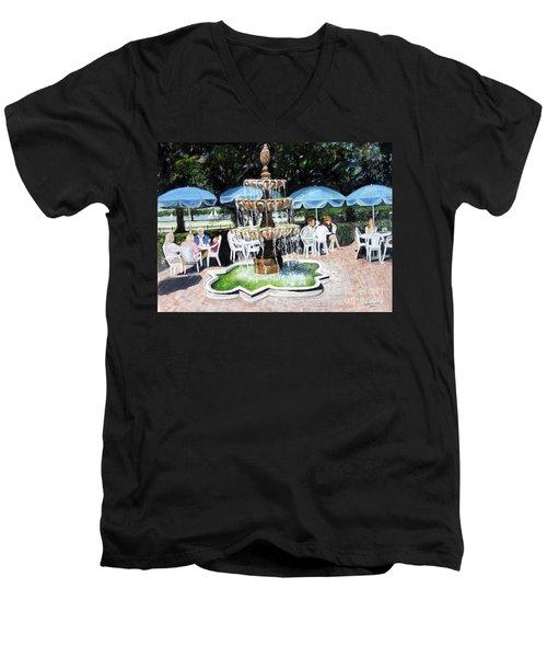Cafe Gallery Men's V-Neck T-Shirt