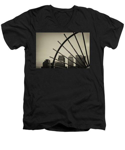 Caged Canary Men's V-Neck T-Shirt