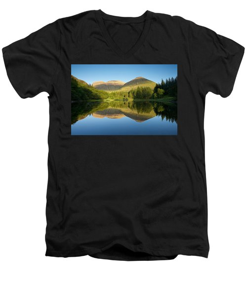 Californian Summer In Glencoe Men's V-Neck T-Shirt by Stephen Taylor