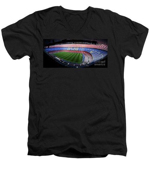 Camp Nou Men's V-Neck T-Shirt
