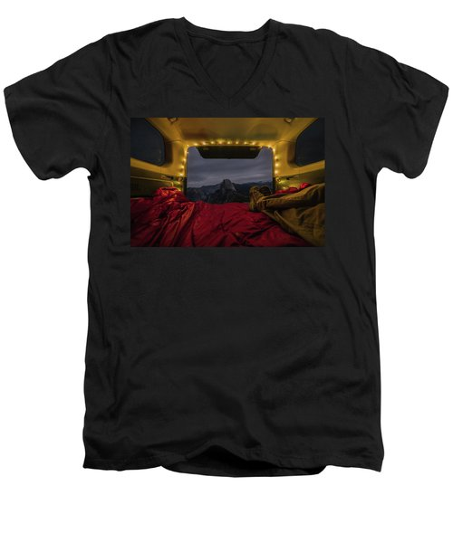 Camping Views Men's V-Neck T-Shirt