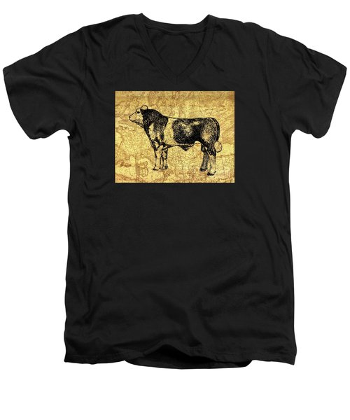 Canadian Champion 12 Men's V-Neck T-Shirt by Larry Campbell