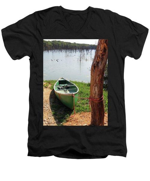 Canoe Men's V-Neck T-Shirt
