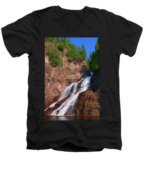 Caribou Falls Men's V-Neck T-Shirt