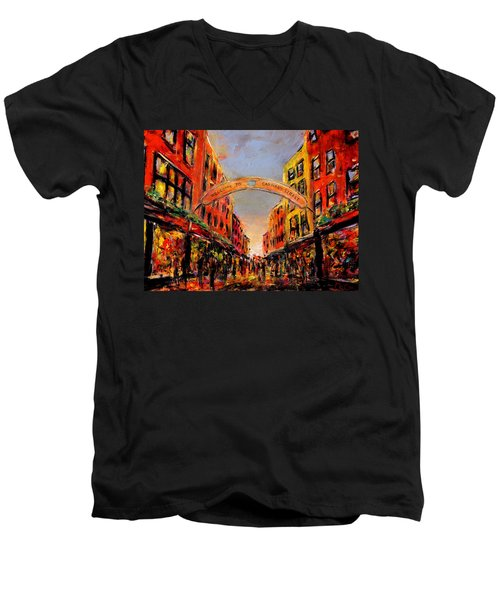 Carnaby Street London Men's V-Neck T-Shirt