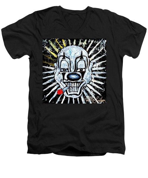 Carnival Clown Men's V-Neck T-Shirt