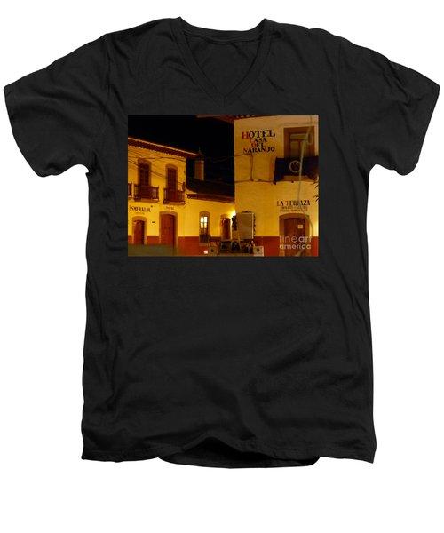 Casa Del Naranjo Men's V-Neck T-Shirt
