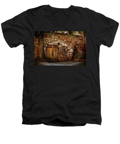 Castle Doors Men's V-Neck T-Shirt