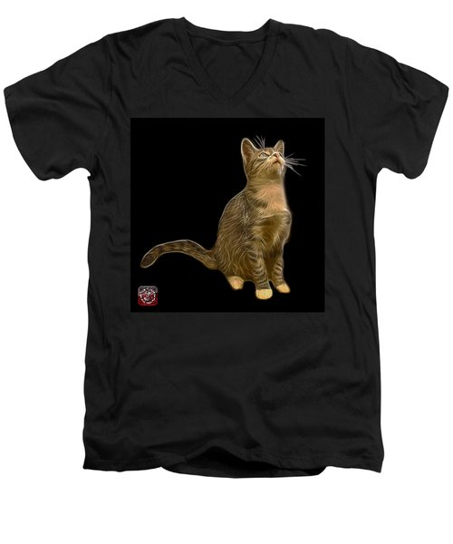 Cat Art - 3771 Bb Men's V-Neck T-Shirt