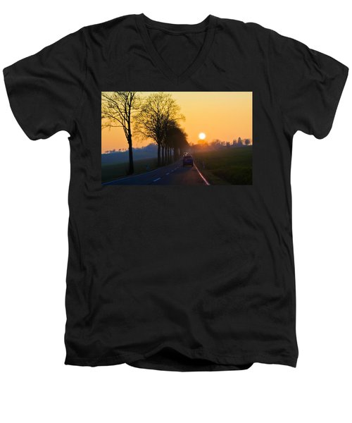 Catching The Sun Men's V-Neck T-Shirt