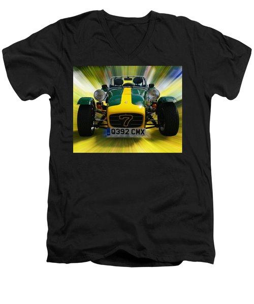 Caterham 7 Men's V-Neck T-Shirt