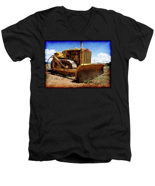 Caterpillar Twenty Two Men's V-Neck T-Shirt