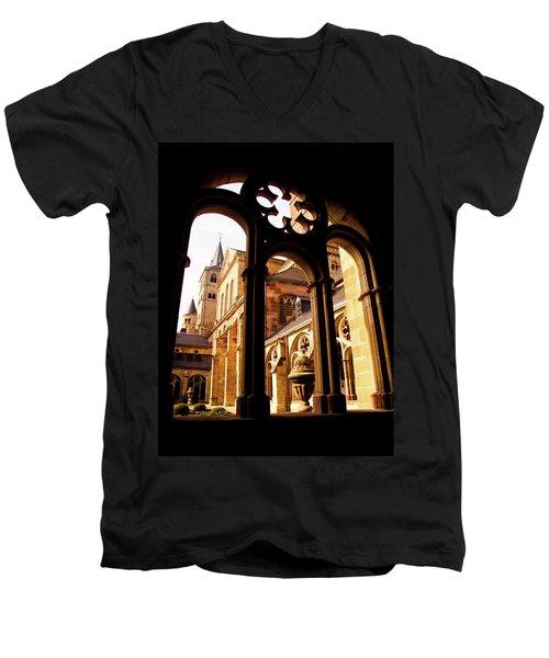 Cathedral Of Trier Window Men's V-Neck T-Shirt