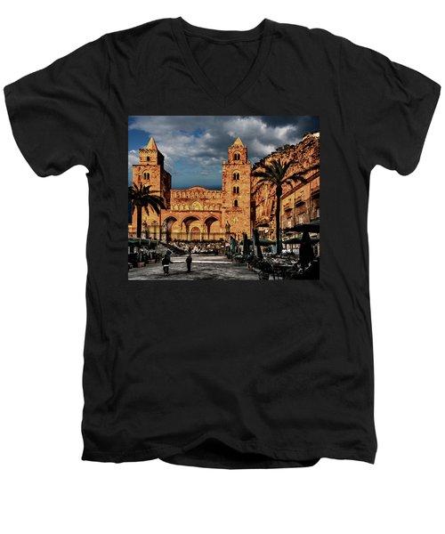 Cathedral  Men's V-Neck T-Shirt