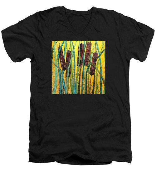 Cattails Men's V-Neck T-Shirt