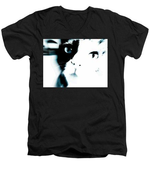 Cattitude Men's V-Neck T-Shirt