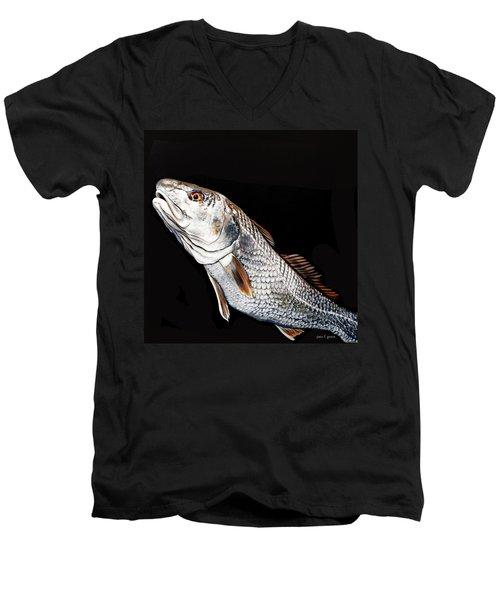 Caught In The Surf Redfish Men's V-Neck T-Shirt