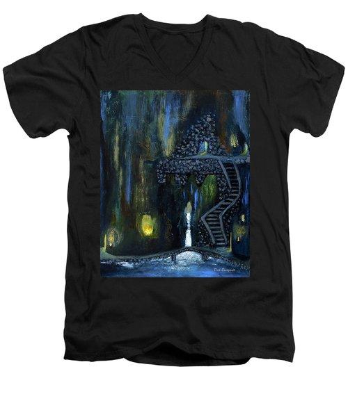 Cave Of Thrones Men's V-Neck T-Shirt