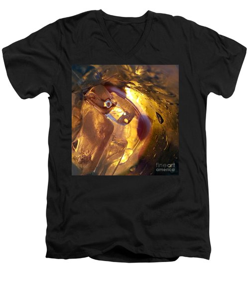 Men's V-Neck T-Shirt featuring the photograph Cavern Of Wonders by Steed Edwards