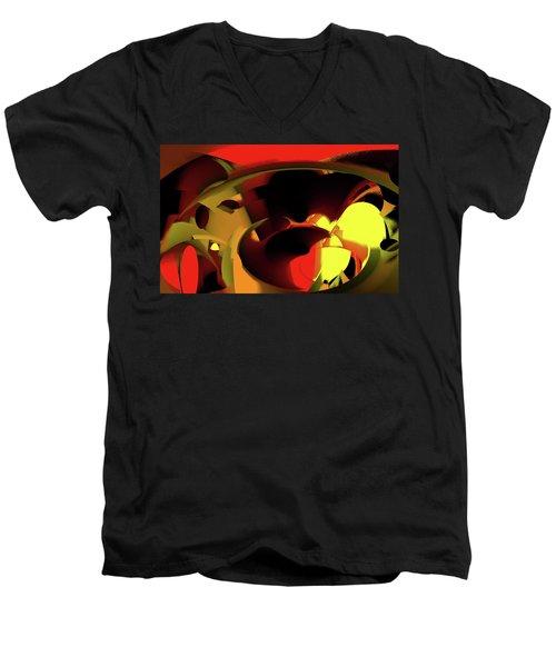 Caverns Men's V-Neck T-Shirt