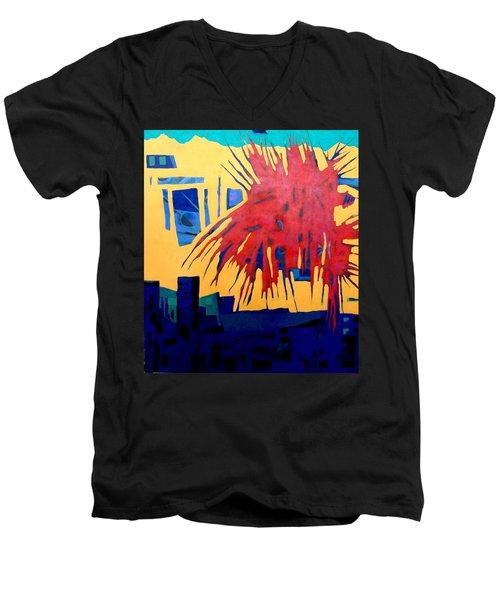 Celebrate The Day Men's V-Neck T-Shirt