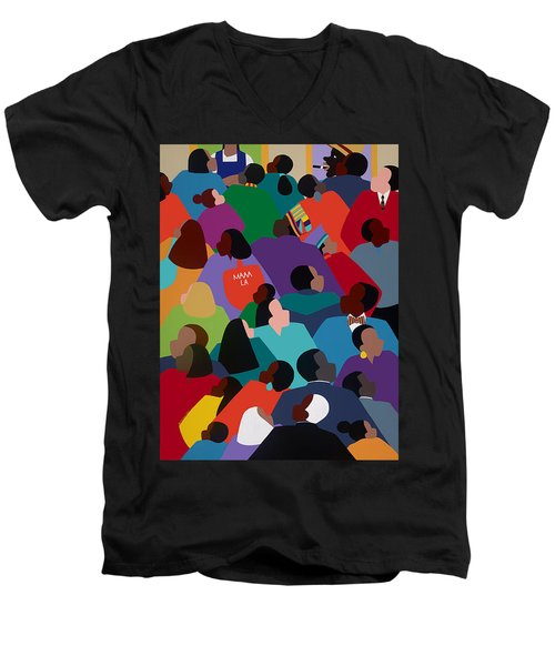 Celebration Maaa-la Men's V-Neck T-Shirt