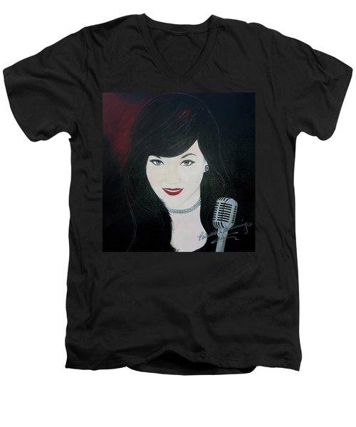 Celeste Barbier Men's V-Neck T-Shirt