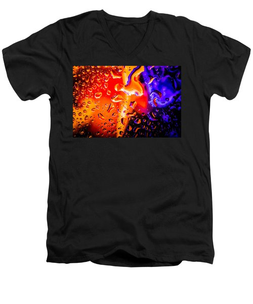 Celestial Fusion Break  Men's V-Neck T-Shirt