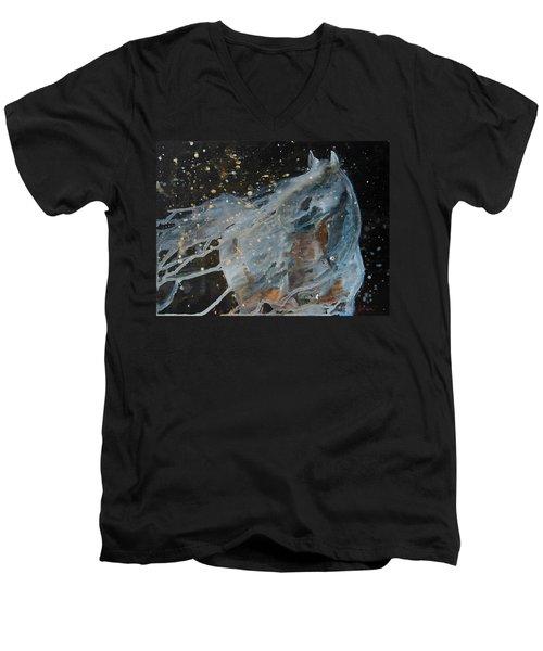 Celestial Stallion  Men's V-Neck T-Shirt