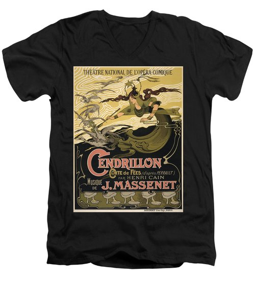 Cendrillon Poster 1899 Men's V-Neck T-Shirt
