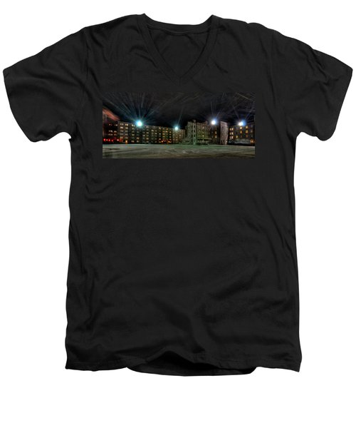 Central Area At Night Men's V-Neck T-Shirt