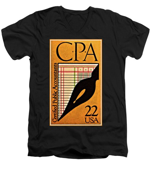 Certified Public Accounting Issue Men's V-Neck T-Shirt