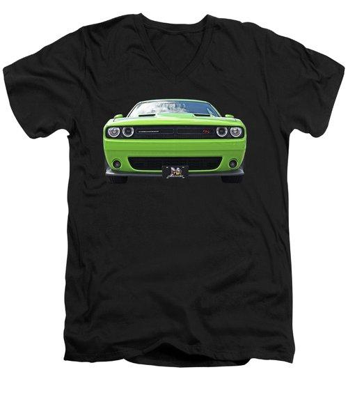 Challenger Scat Pack Men's V-Neck T-Shirt