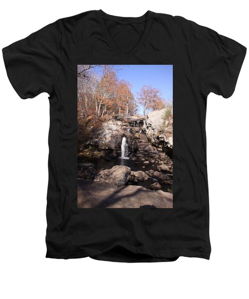 Champman Falls 11/7/16 Men's V-Neck T-Shirt