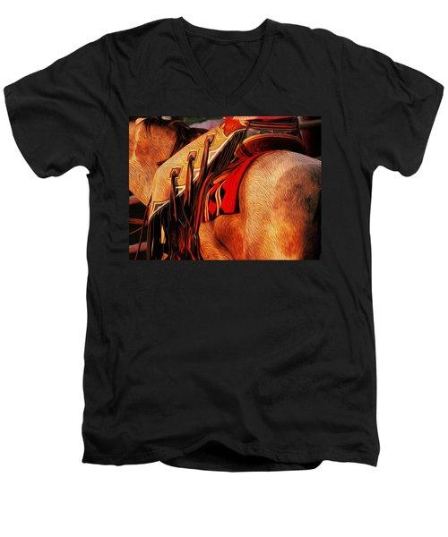 Chaps Men's V-Neck T-Shirt