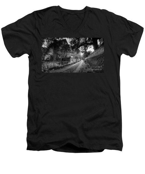 Charleston Ally Path Men's V-Neck T-Shirt