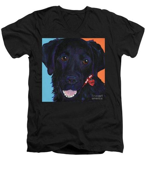 Charlie Men's V-Neck T-Shirt