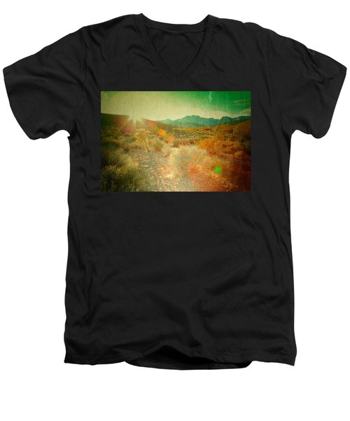 Men's V-Neck T-Shirt featuring the photograph Charm by Mark Ross