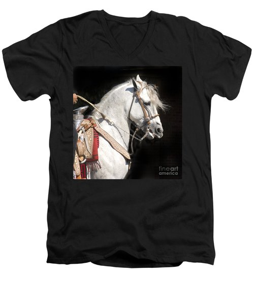 Charro Stallion Men's V-Neck T-Shirt