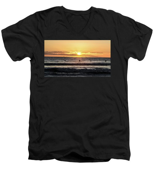 Chasing The Waves Men's V-Neck T-Shirt