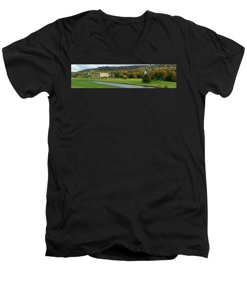 Chatsworth Panorama Men's V-Neck T-Shirt