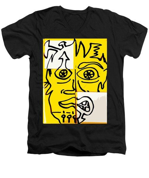 Chaz Men's V-Neck T-Shirt